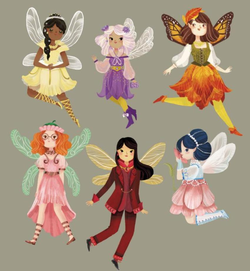 Fantastical Fairies Characters 2