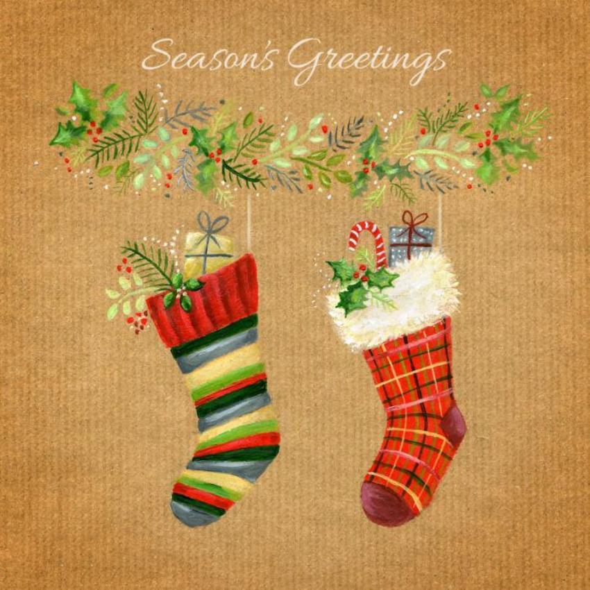 Ileana Oakley Woolly Christmas Stockings