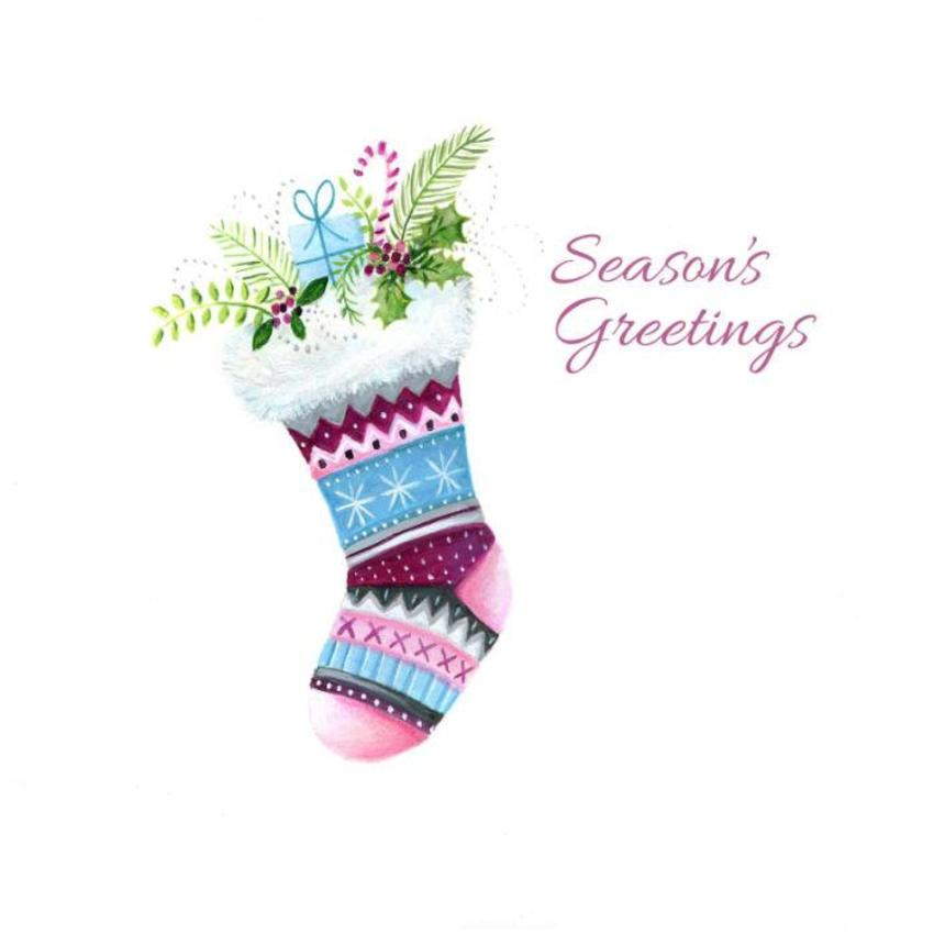 Ileana Oakley Christmas Stocking