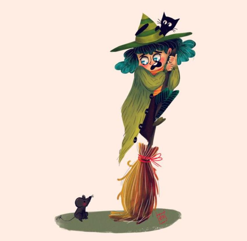 Scared Witch