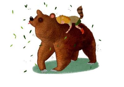 bear-and-girl