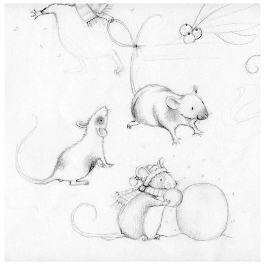 Magic Of Christmas Character Mouse Study1
