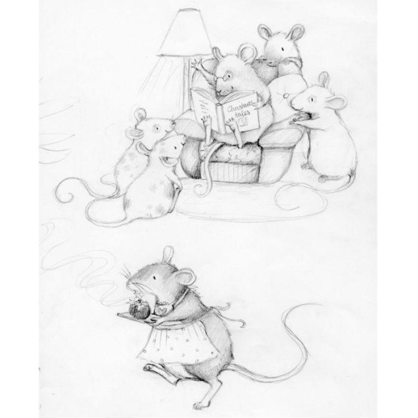 Magic Of Christmas Character Mouse Study2