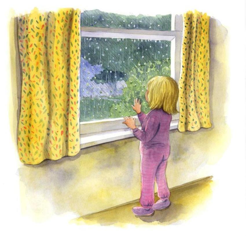 Corke Book Child Window
