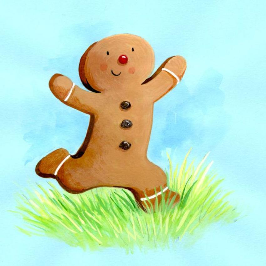 The Gingerbread Man Character Study