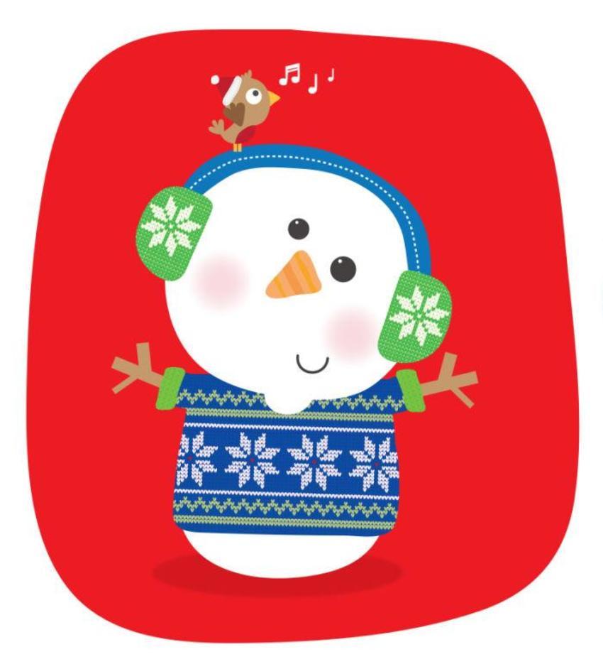 JENNIE BRADLEY-CHRISTMAS-SNOWMAN KNITTED
