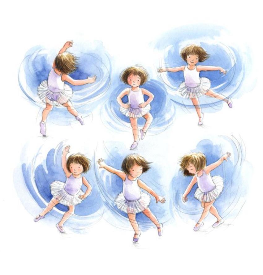 Corke Book Ballet Dancers
