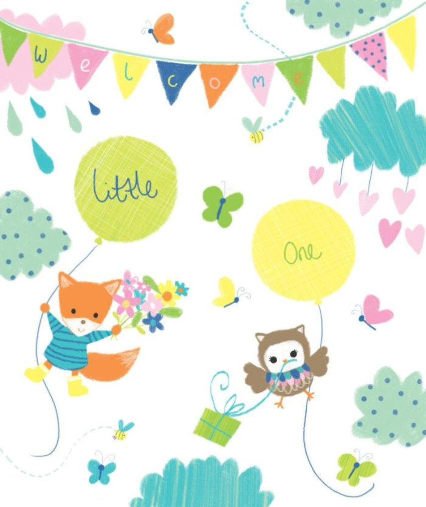 Melanie Mitchell, Baby Fox Owl Gift Bag