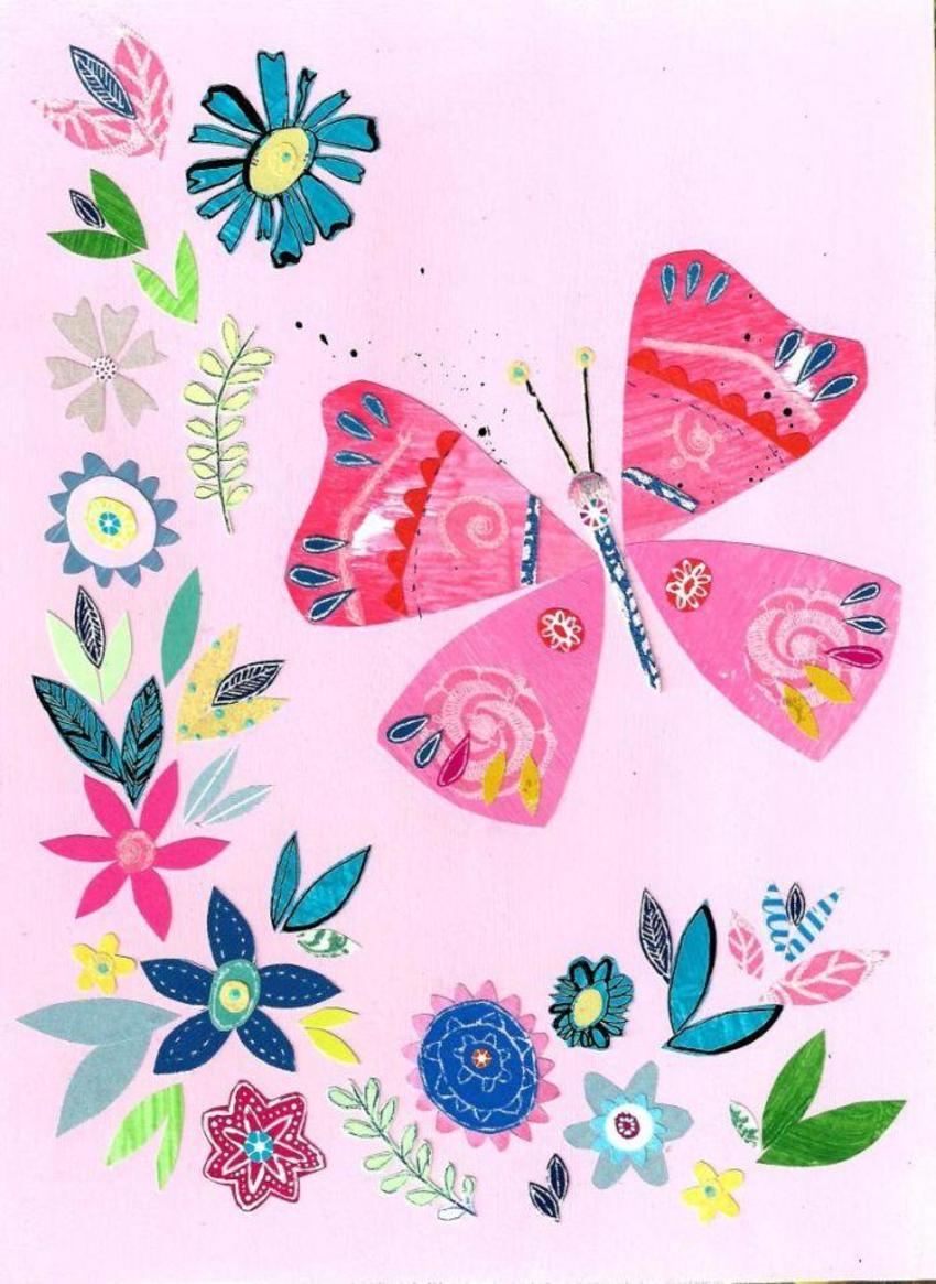 PT - Floral Butterfly Design