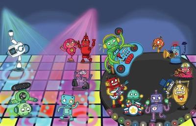 dancing-robots
