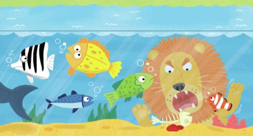 Lion Fish Tank