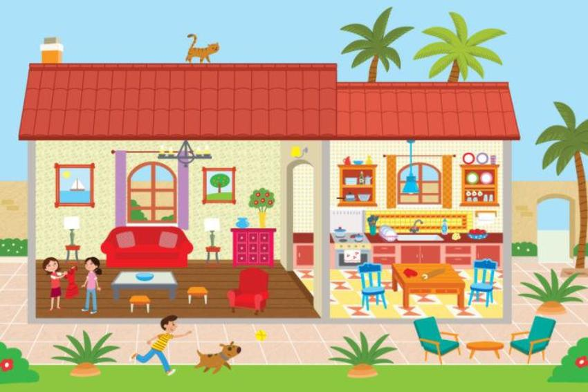 ISEEK- Sticker House PAGE 2 Spanish Colonian House Final