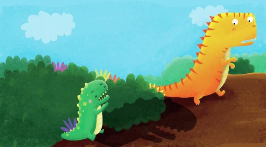 Spread5 Dino