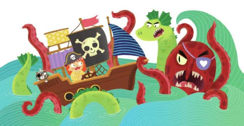 Pirate Ship Monsters