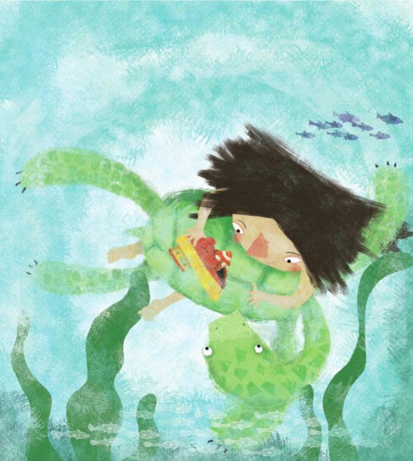 Girl Turtle01