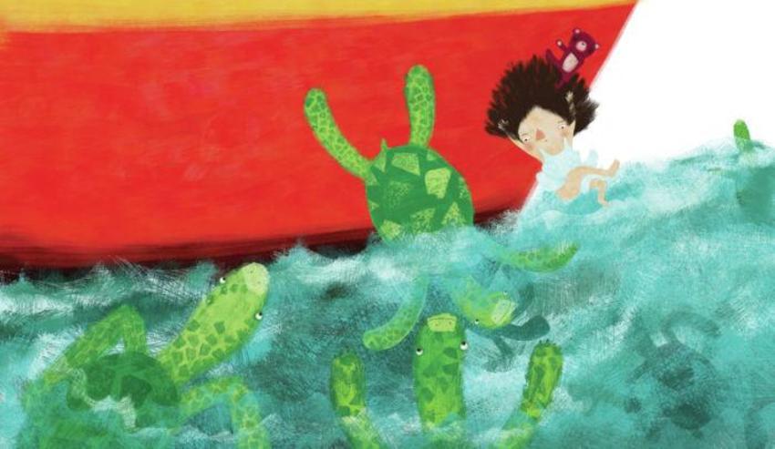 Girl Turtle15