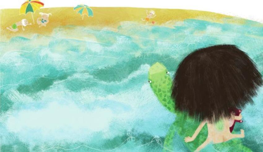 Girl Turtle04
