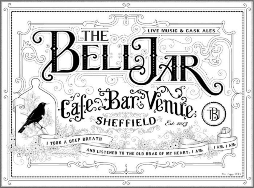 The Bell Jar B&W