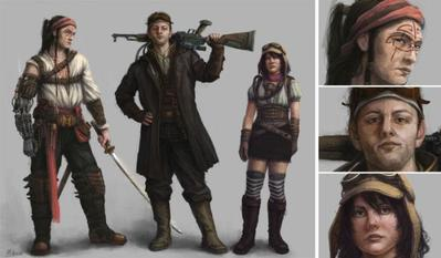 steampunk-characters