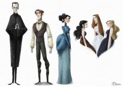 dracula-characters