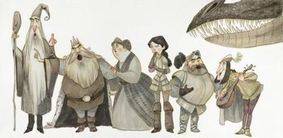 san-jorge-characters
