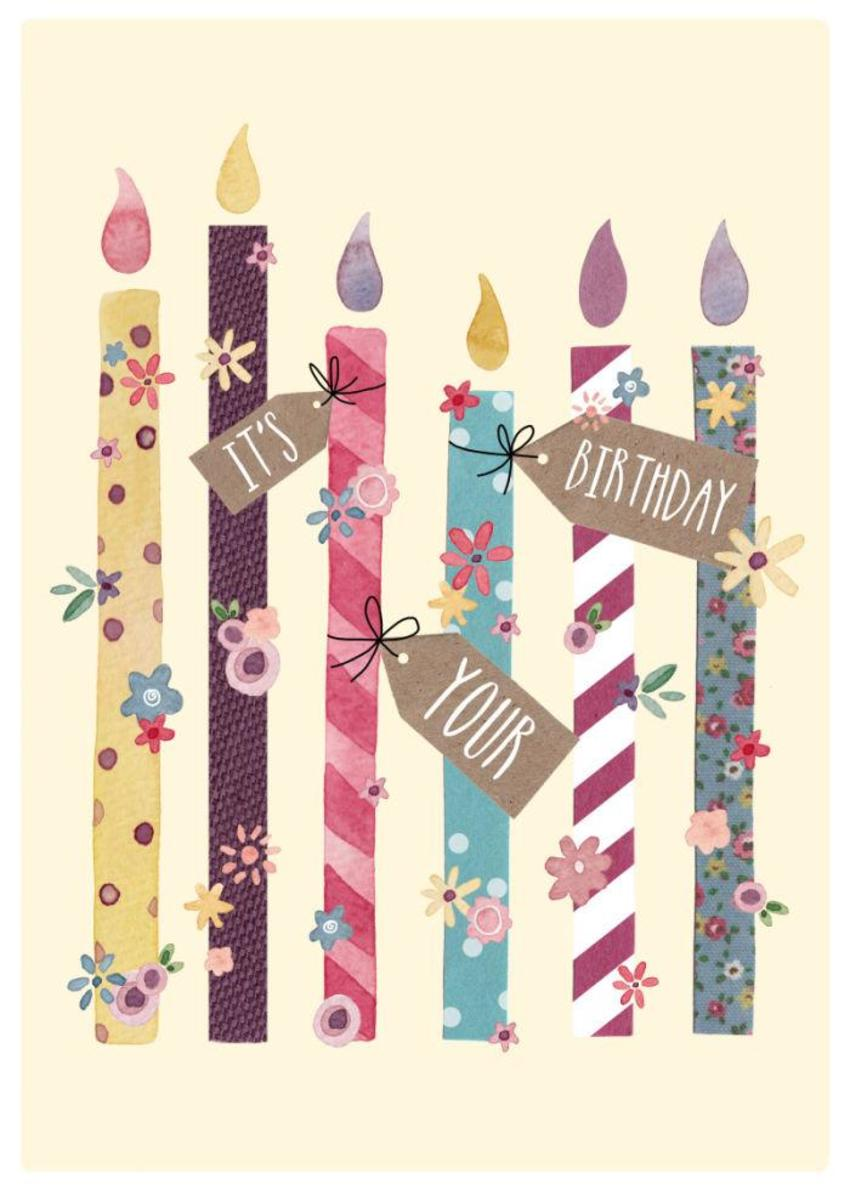 Felicity French Birthday Candles