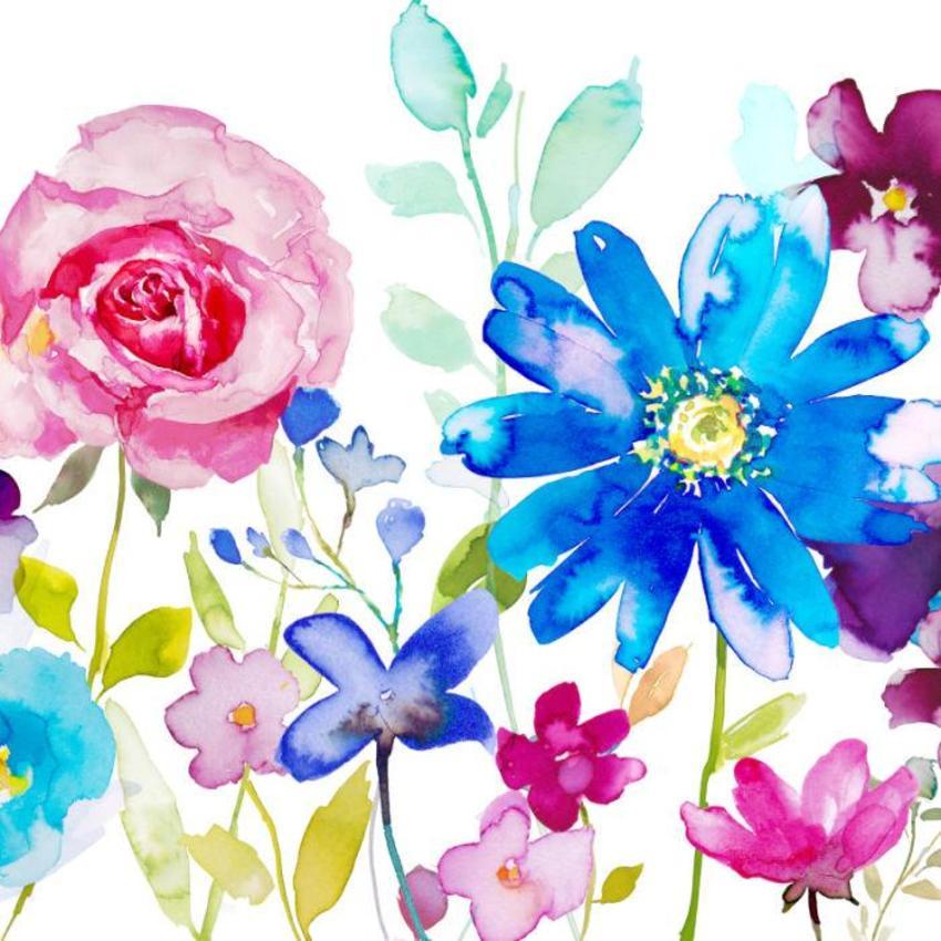 Rose and Blue flower  2 jpg.jpg