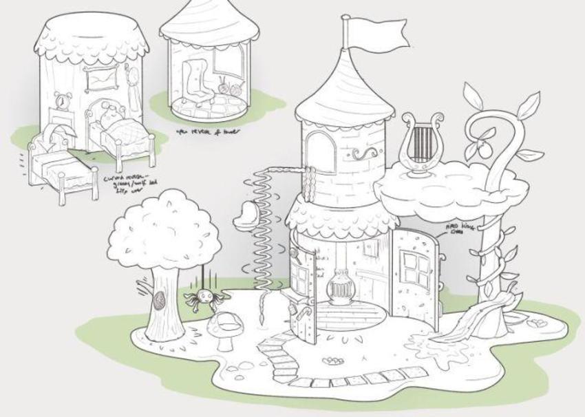 Peppa Fairytale Playset 2-2