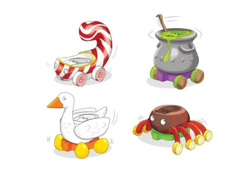 Peppa Fairytale Vehicles Bold2-1