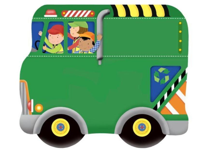 Recycle Truck Main Vehicle