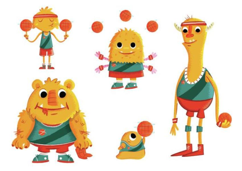 Galaxy Globetrotters Characters-01