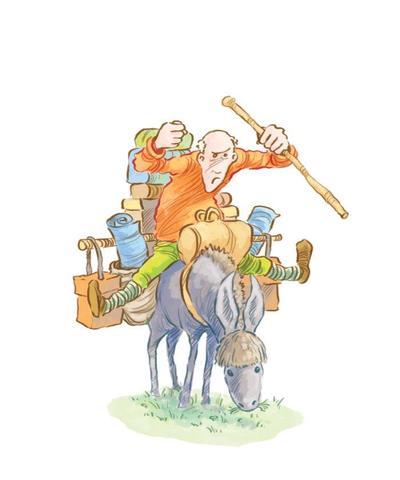 jon-davis-story-a-day-man-donkey