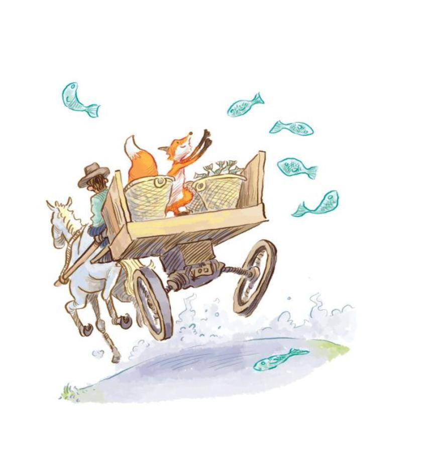 Jon Davis - Story A Day Fox Cart
