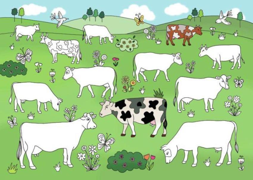 Cows Doodle