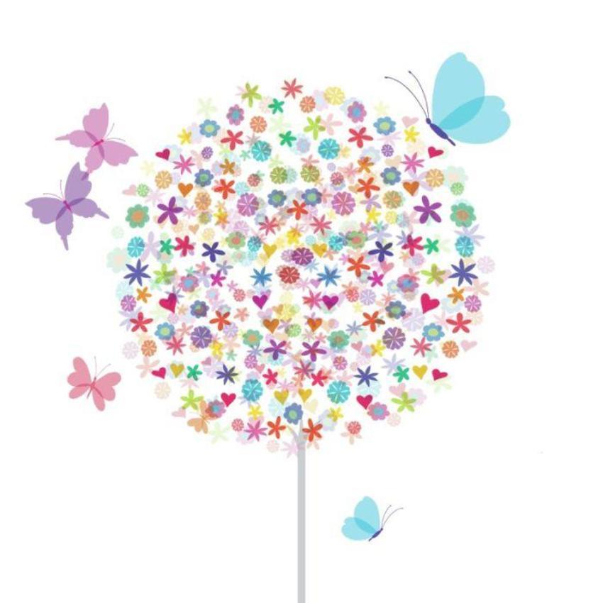 Zen Butterflies Tree