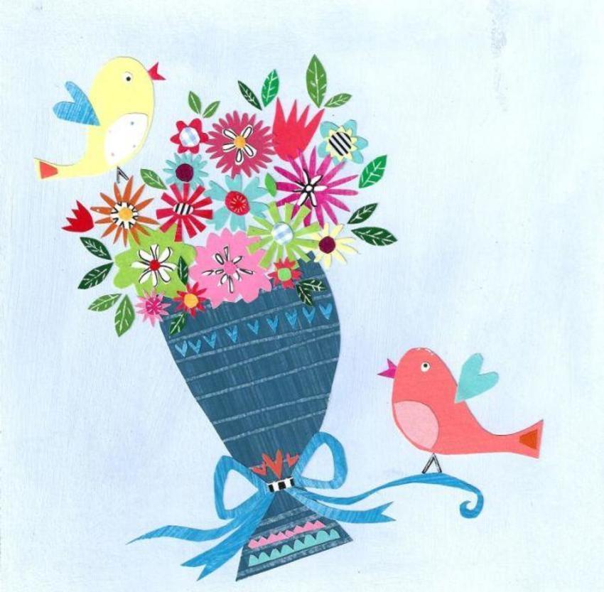 PT - NEW Birds & Flowers