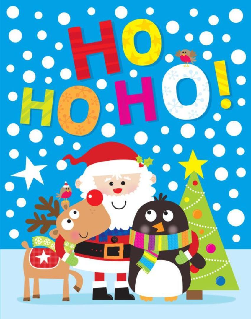 JENNIE BRADLEY-CHRISTMAS-HOHOHO BAG