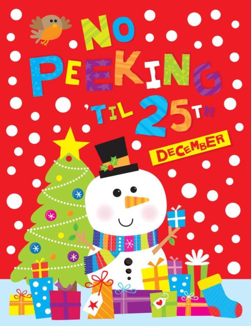 JENNIE BRADLEY-CHRISTMAS-NO PEEKING BAG
