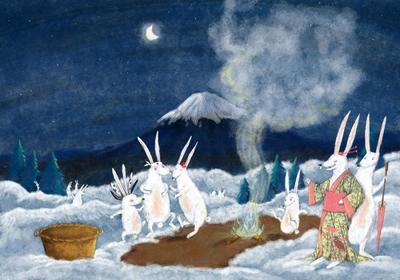 m-calderon-rabbits-snow