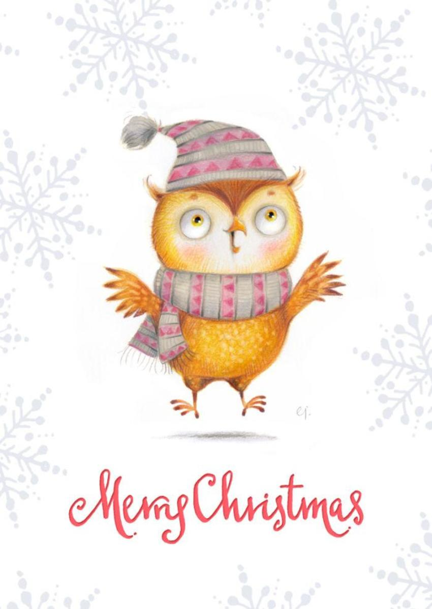 Holiday Owl2a