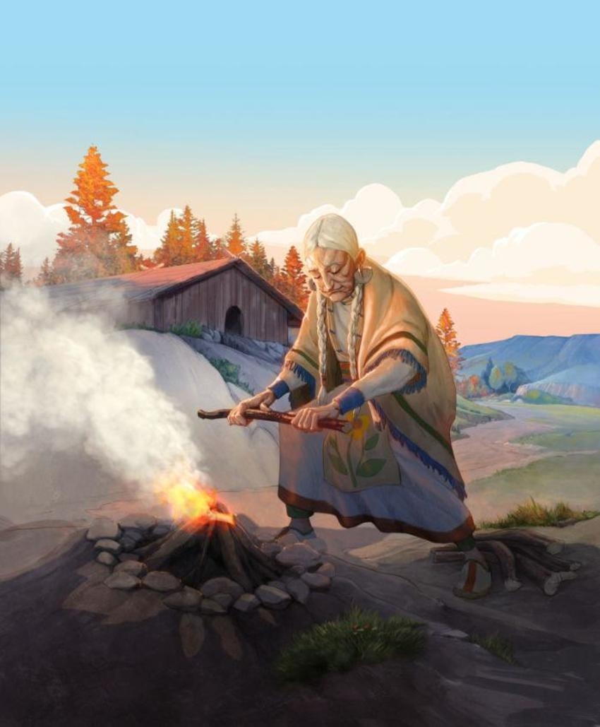 The Fire Keeper 1