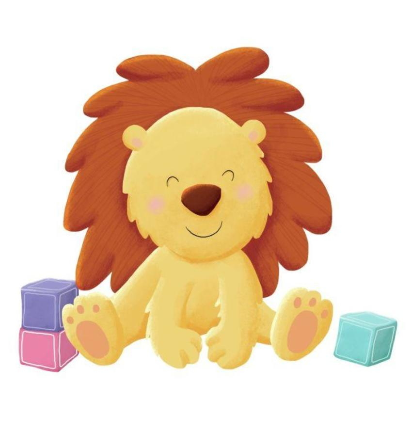baby lion.psd