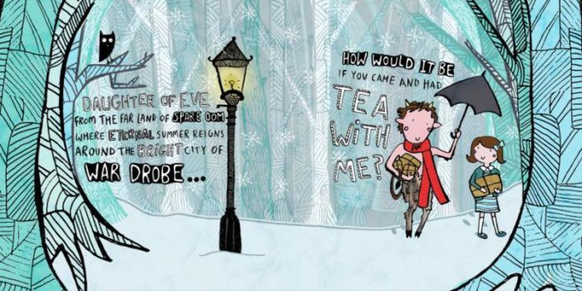 Mr Tumnus Narnia Book spread.jpg