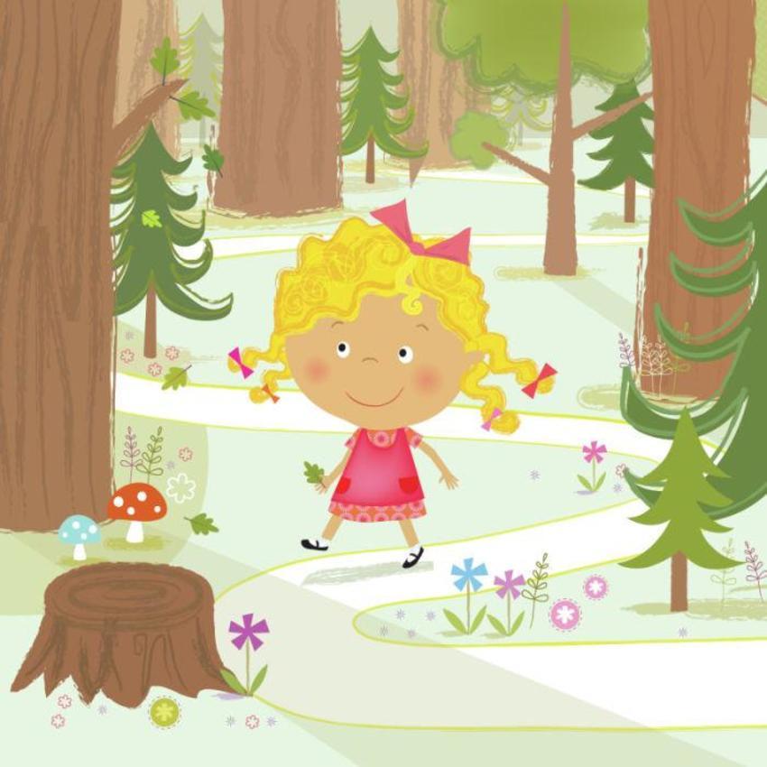 Goldilocks in the forest.jpg