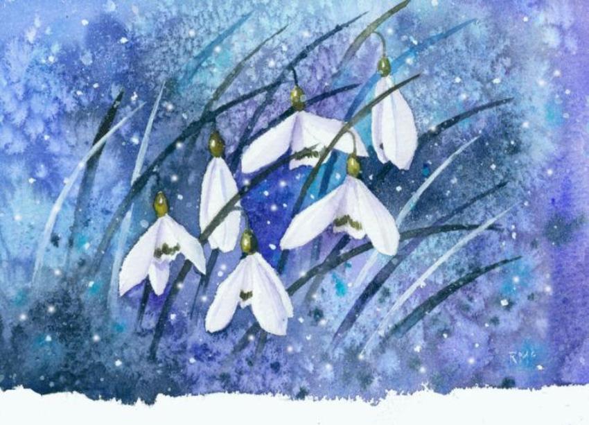 Snowdrops &snow.jpg
