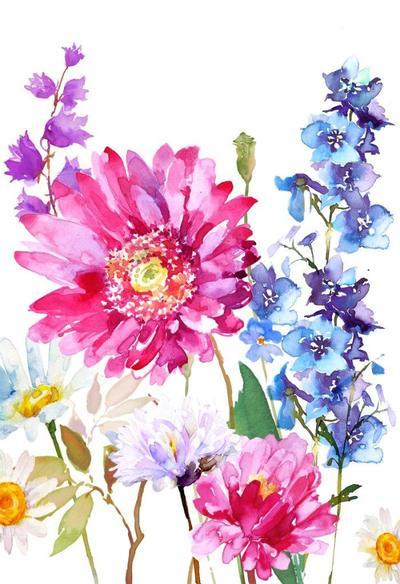 gerbra-floral-psd