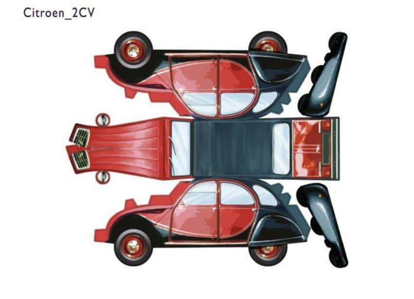 Citroen 2CV.psd