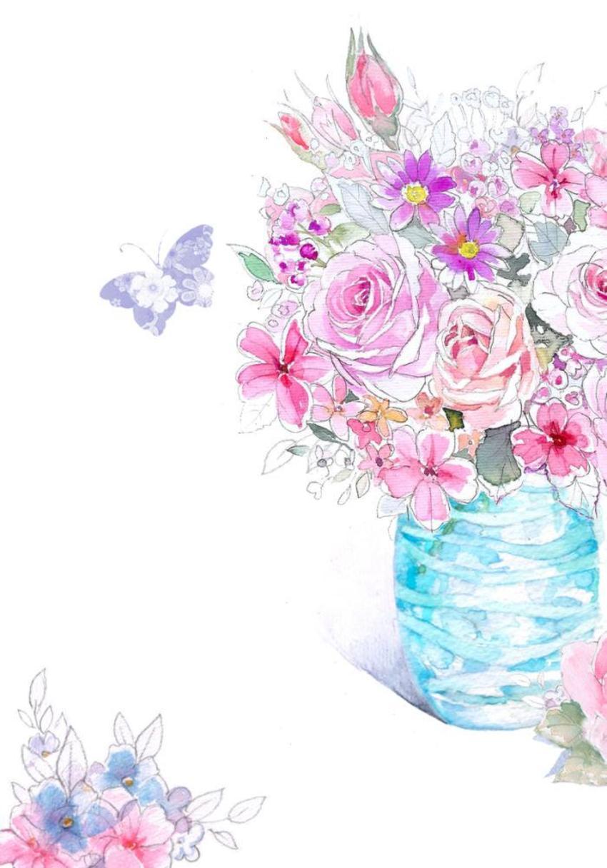 Blue Pencil Vase Floral .jpg