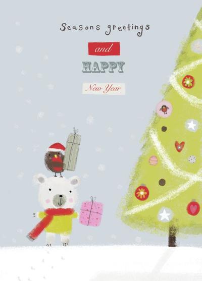 cute-xmas-bear-and-tree-psd