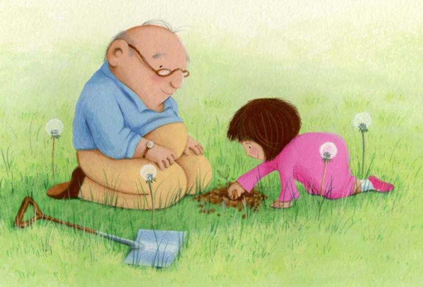 grandpa and little girl with spade and seed.jpg